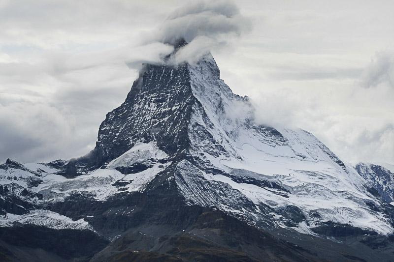 Stormy Matterhorn