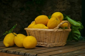 Lemons, Cinque Terre, Italy