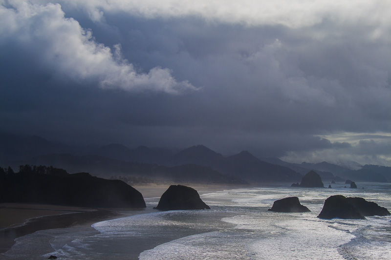 Stormy Day at Ecola, Ecola State Park, Oregon