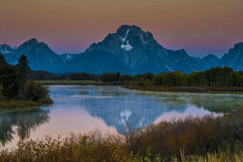 Early Morning Tetons, Teton National Park, Wyoming