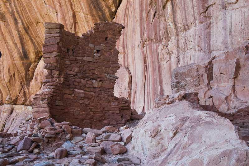 Anasazi Ruins, Arch Canyon, Utah
