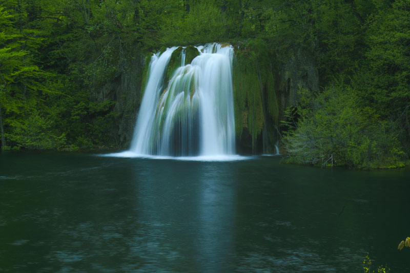 Green Pool Falls, Plitvice Lakes National Park, Croatia